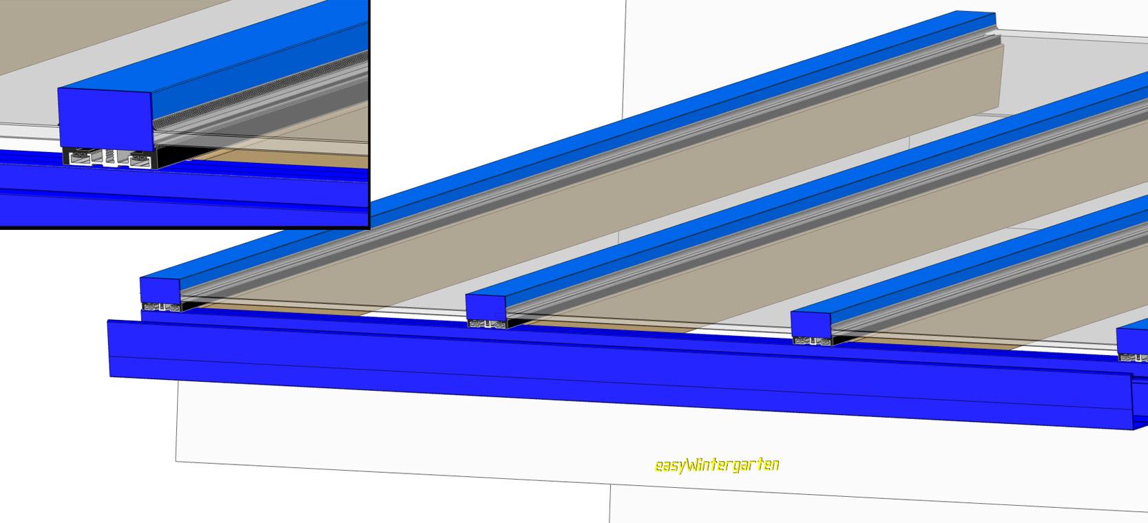 Terrassenueberdachung Selber Bauen Mit Glasdach Bauanleitung