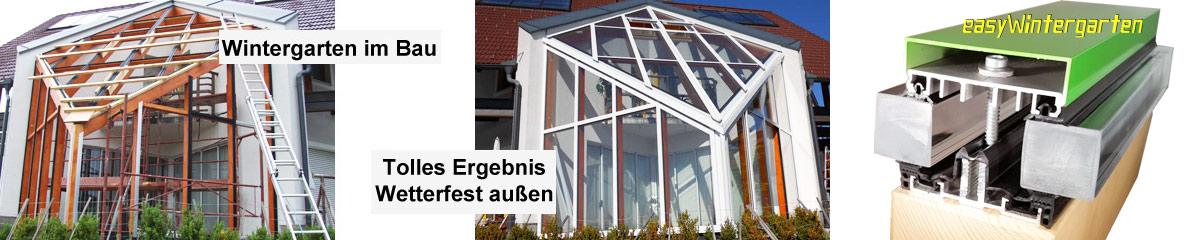 selbstbau eines wintergarten glasdach oder. Black Bedroom Furniture Sets. Home Design Ideas