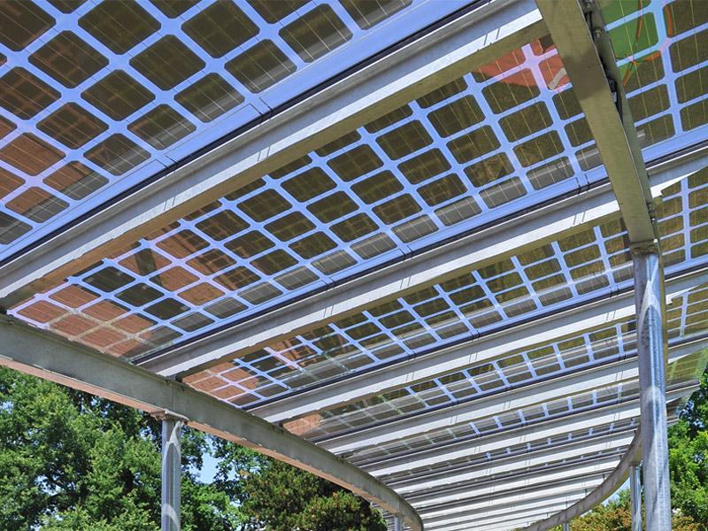Solar Terrassendach selber bauen
