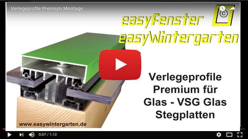 Verlegeprofile Premium VSG Video
