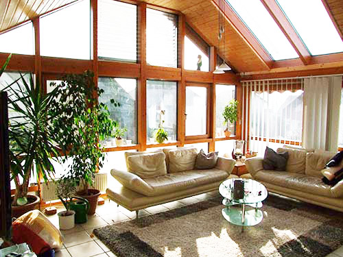 Wintergarten Holz Selber Bauen Glasbefstigung