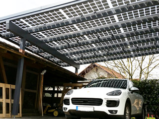Carport Glasdach Solar