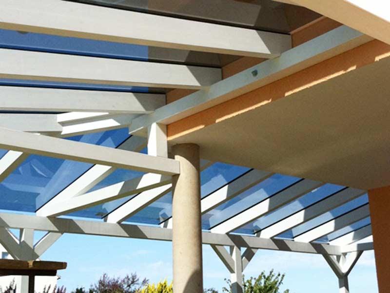 Terrassenüberdachung Glas, Terrassendach selbst bauen | easyWintergarten