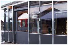 wintergarten glasdach oder glaswand selber bauen. Black Bedroom Furniture Sets. Home Design Ideas