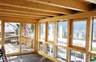 selbstbau eines wintergarten, glasdach oder terrassenüberdachung, Moderne