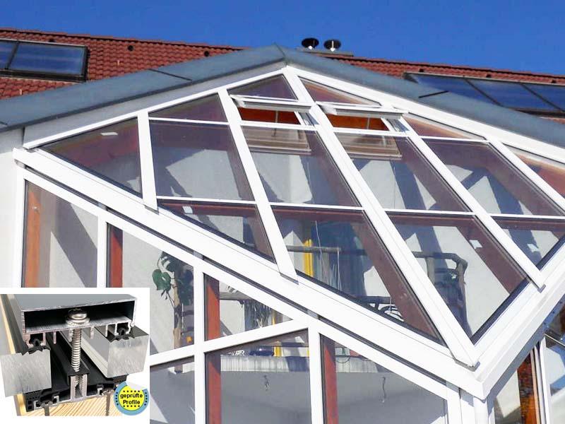 wintergarten au en nie mehr streichen mit aluminium verlegeprofilen wintergarten selber bauen. Black Bedroom Furniture Sets. Home Design Ideas
