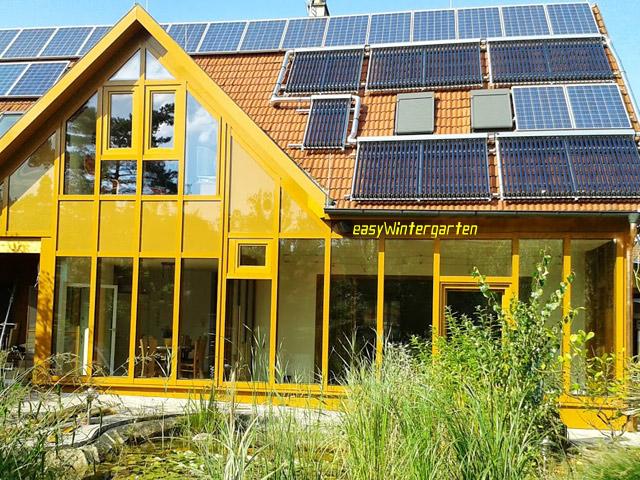 Fassadenverglasung aluminium glasfassaden profile easywintergarten - Easy wintergarten ...