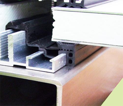 verglasungsprofile verlegeprofile f r glas bei metallbau stahlbau. Black Bedroom Furniture Sets. Home Design Ideas
