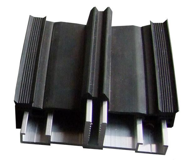 verlegeprofile alu isoliert mit auflagedichtung f r isolierglas. Black Bedroom Furniture Sets. Home Design Ideas