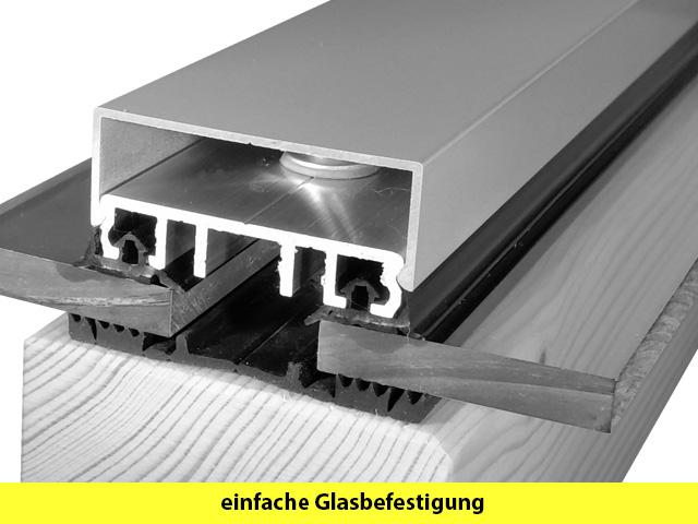 glasdach glas berdachung bauen mit aluminiprofilen f r. Black Bedroom Furniture Sets. Home Design Ideas